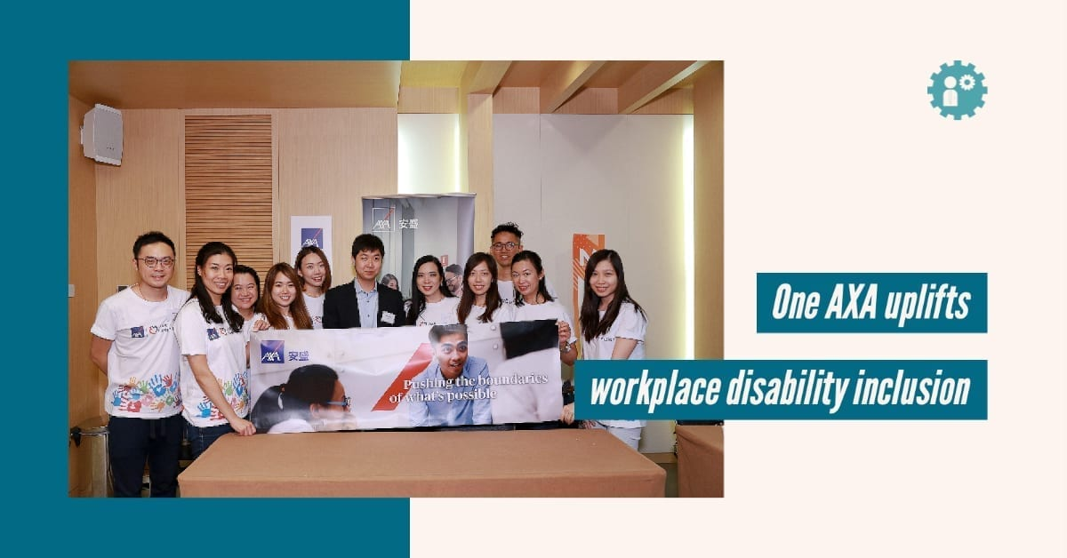 One AXA uplifts workplace disability inclusion